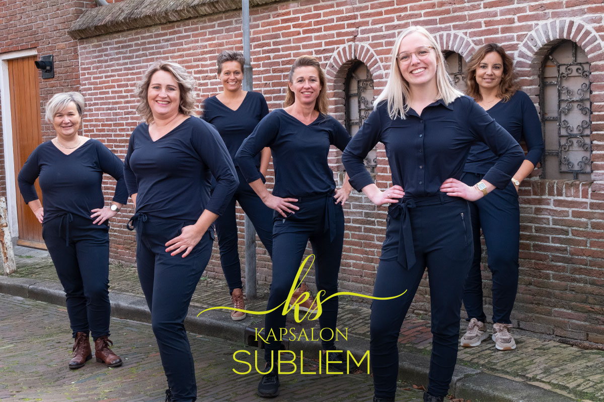 Team Kapsalon Subliem Grote Breedstraat